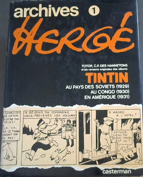 Image for Archives Herge 1 - Tintin (French)