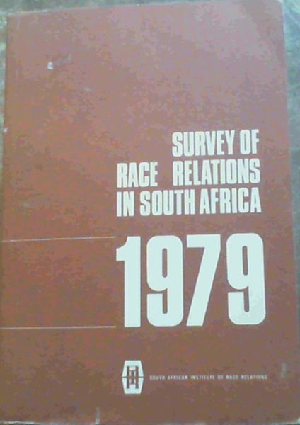 Image for Survey Of Race Relations In South Africa