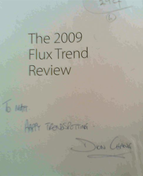 Image for The 2009 Flux Trend Review; An indispensable handbook covering the latest trends affecting our lives
