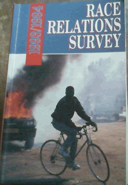 Image for Race Relations Survey 1993/94