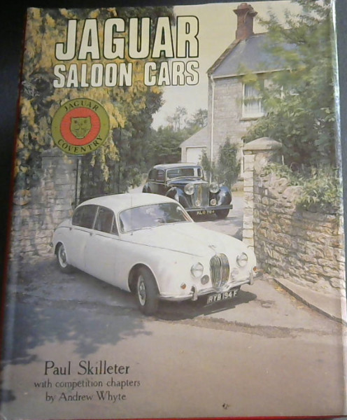 Image for Jaguar Saloon Cars (Foulis motoring book)