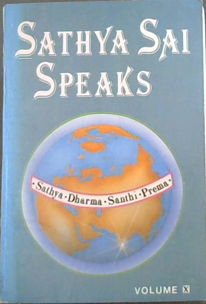 Image for Sathya Sai Speaks. Volume 10