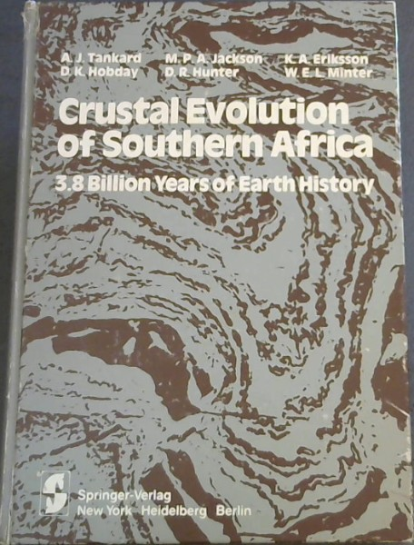 Image for Crustal Evolution of Southern Africa: 3.8 Billion Years of Earth History
