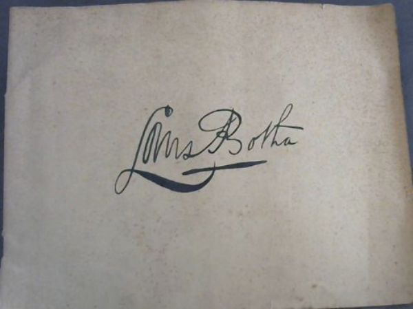 Image for Louis Botha : album published by the Louis Botha memorial Committee on the occasion of the unveiling of the Botha Monument at Pretoria, on August the 15th, 1946 / Album uitgegeer deur die Louis Botha Gedenktekenkomitee by geleentheid van die onthulling van die Botha-standbeeld te Pretoria, op 15 Augustus 1946