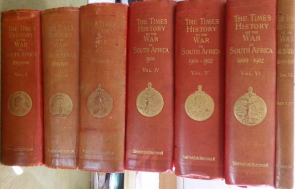 Image for The Times History of The War in South Africa 1899-1902 - 7 volumes