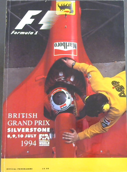 Image for British Grand Prix : Silverstone , 8; 9; 10 July 1994. Office (Formula 1)