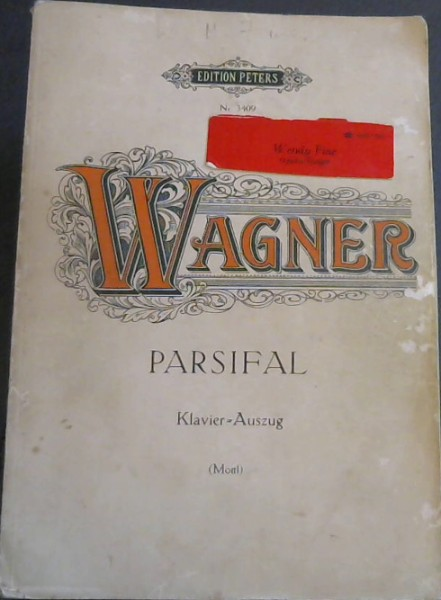 Image for Parsifal - Klavier-Auszug - Edition Peters Nr 3409