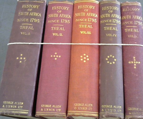 Image for History of South Africa since 1795 - five volumes