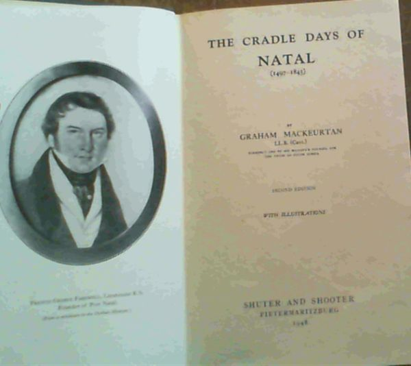 Image for The Cradle Days of Natal (1497-1845)