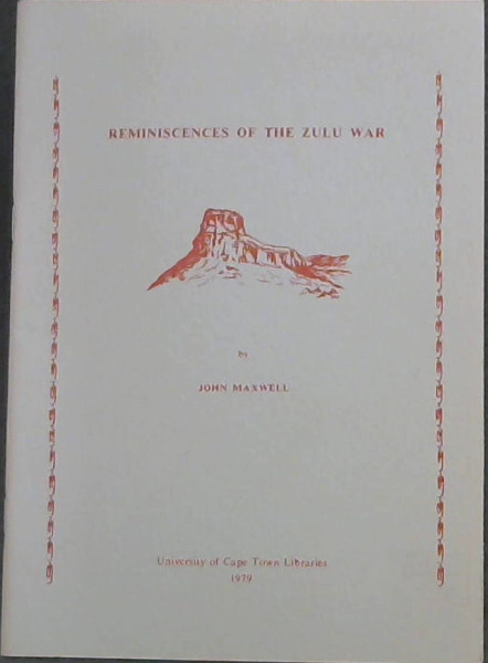 Image for Reminiscences of the Zulu War