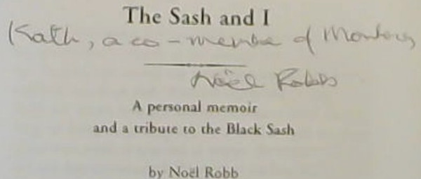 Image for The Sash and I : a Personal Memoir and a Tribute to the Black Sash