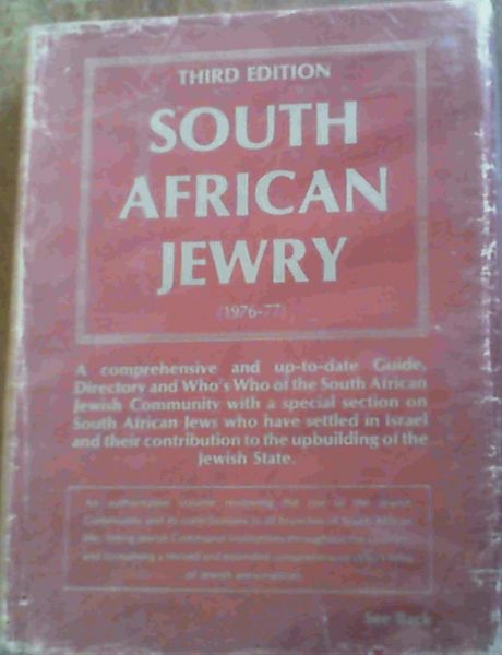 Image for South African Jewry 1976 - 77 Edition