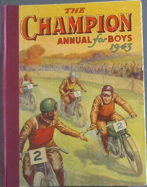 Image for The Champion Annual for Boys 1943