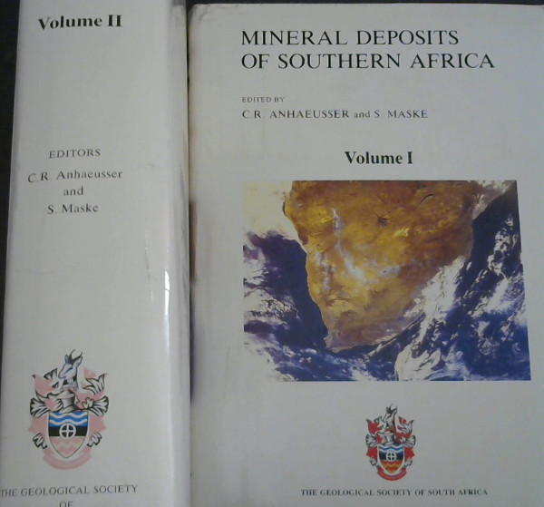 Image for Mineral Deposits of Southern Africa - Two Volumes