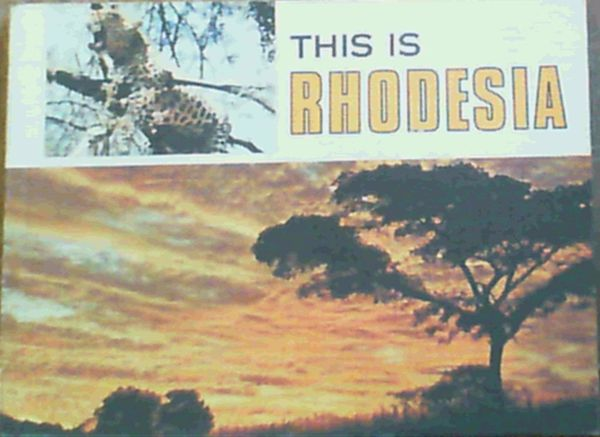 Image for This is Rhodesia