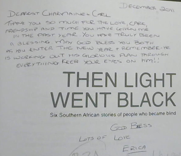 Image for Then Light Went Black : Six Southern African stories of people who became blind