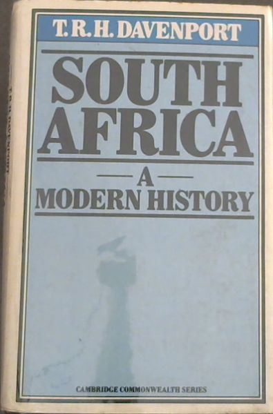 Image for South Africa: A Modern History (Cambridge Commonwealth series)