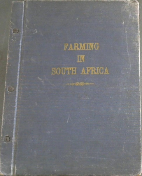 Image for Farming in South Africa: Volume XXIV - January, 1949 to December, 1949