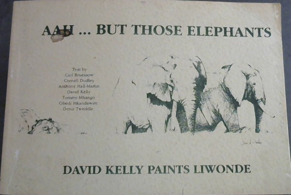 Image for Aah--but those elephants: David Kelly paints Liwonde