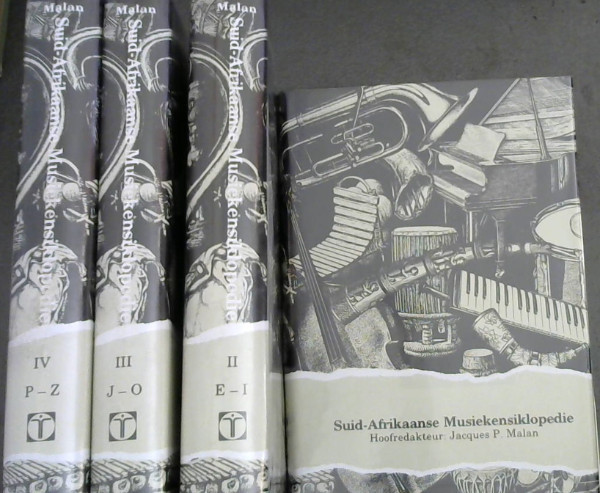 Image for Suid-Afrikaanse Musiekensiklopedie - 4 Volumes