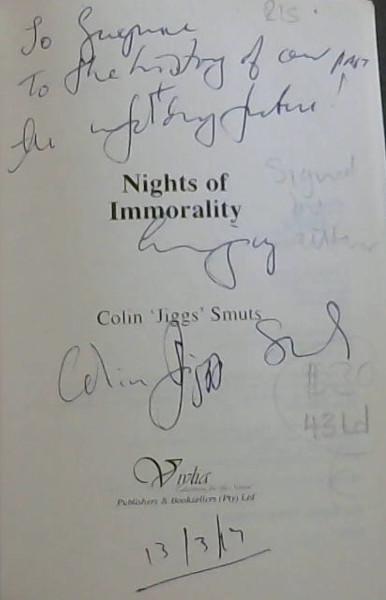 Image for Nights of immorality
