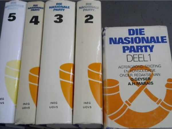 Image for Die Nasionale Party - five volumes