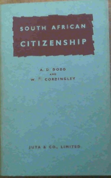 Image for South African Citizenship