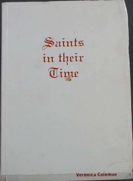 Image for Saints in their Time