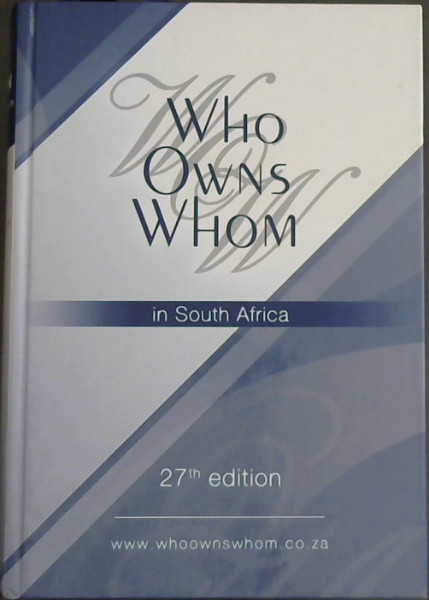 Image for Who Owns Whom 2007