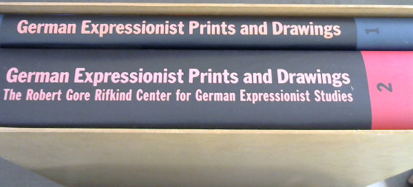 Image for German Expressionist Prints and Drawings: The Robert Gore Rifkind Center for German Expressionist Studies - 2 Volumes