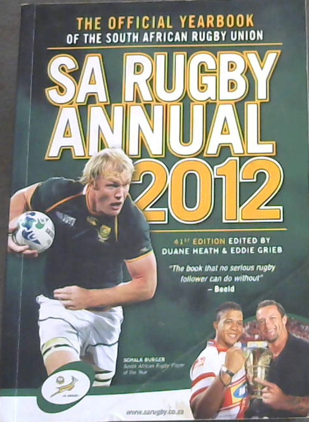 Image for SA Rugby Annual 2012: The Official Yearbook of the South African Rugby Union