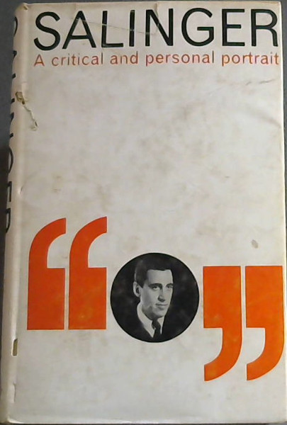 Image for Salinger : A Critical and Personal Portrait