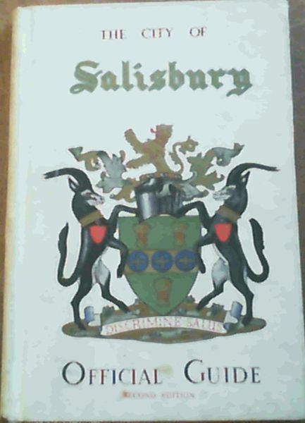 Image for The City of Salisbury Official Guide