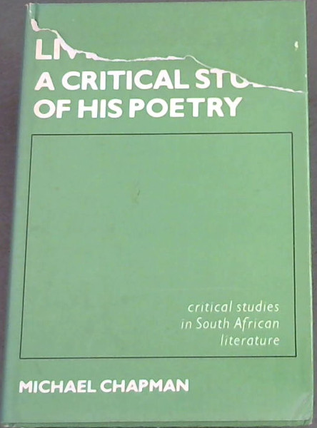 Image for Douglas Livingstone: A Critical Study of His Poetry