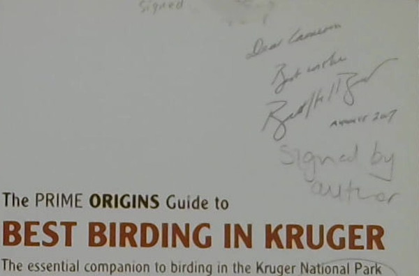 Image for The Prime Origins Guide To Best Birding In Kruger: The Essential Companion To Birding In The Kruger National Park
