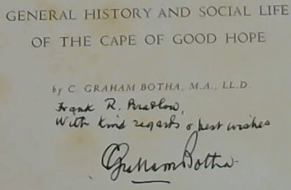 Image for The Collected Works of C Graham Botha - in three volumes