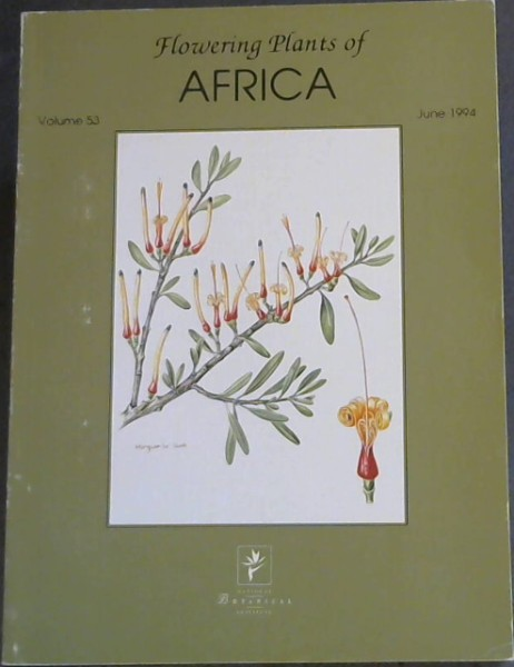 Image for Flowering Plants of Africa - A magazine containing colour plates with descriptions of flowering plants of Africa and neighbouring islands (Volume 53)