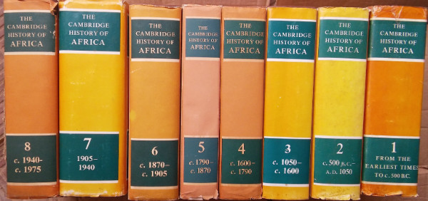 Image for The Cambridge History of Africa - 8 Volumes