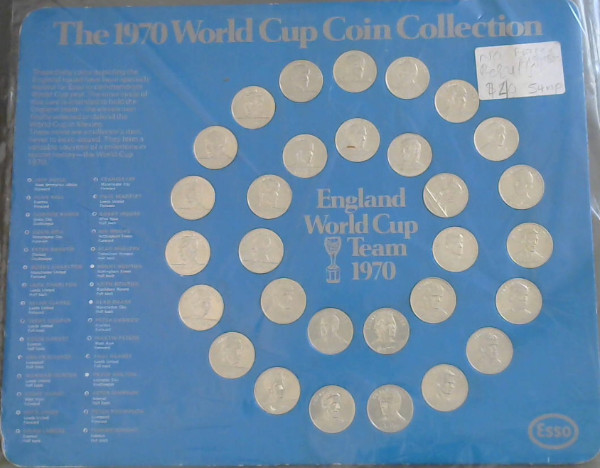 Image for 1970 World Cup Coin Collection : England World Cup Team 1970