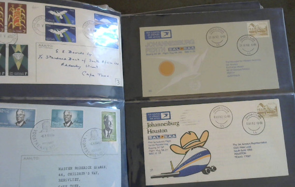 Image for Album of South African First Day Covers and Commemorative Envelopes