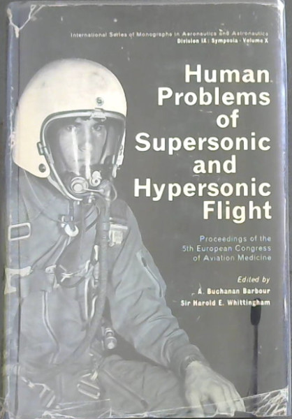 Image for Human Problems of Supersonic and Hypersonic Flight