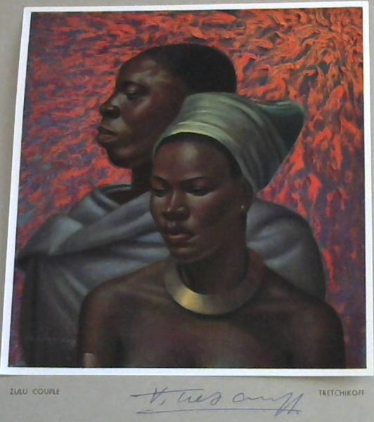 Image for Tretchikoff Print - Signed: Zulu Couple