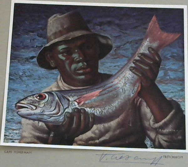 Image for Tretchikoff Print - Signed: Cape Fisherman