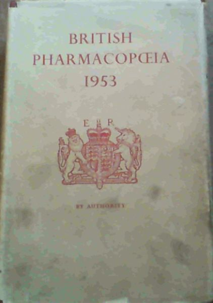 Image for British Pharmacopoeia 1953
