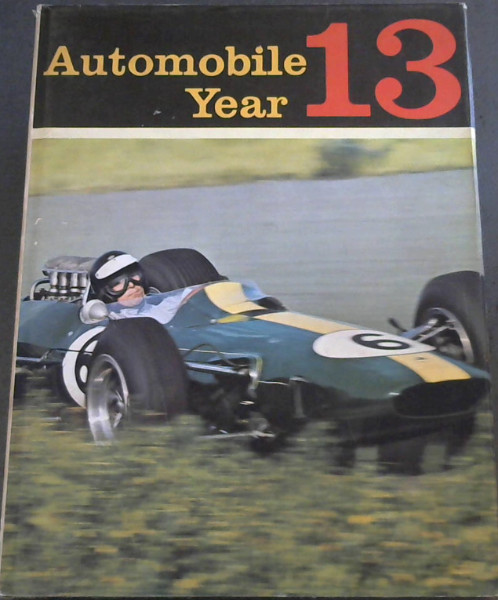 Image for Automobile Year No. 13. Edition 1965 - 1966