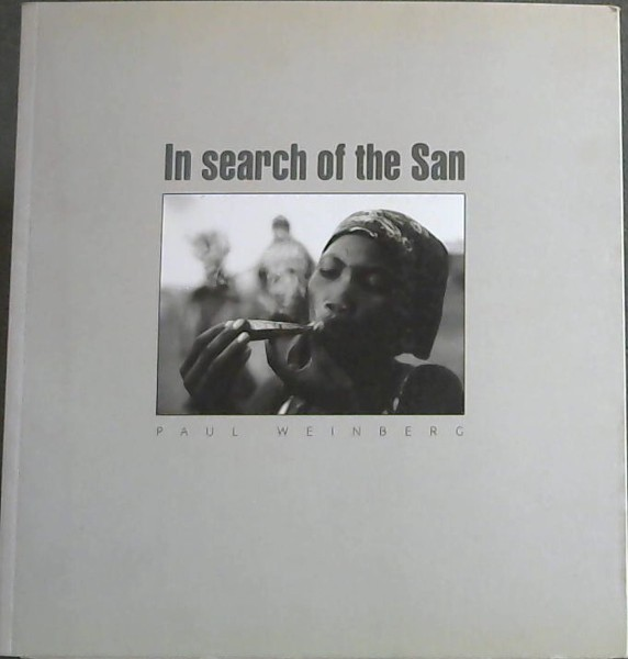 Image for In Search Of The San