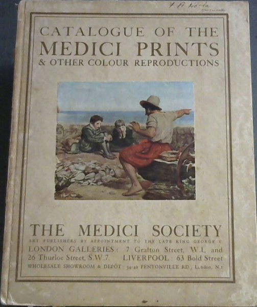 Image for Catalogue of the Medici Prints and other Colour Reproductions