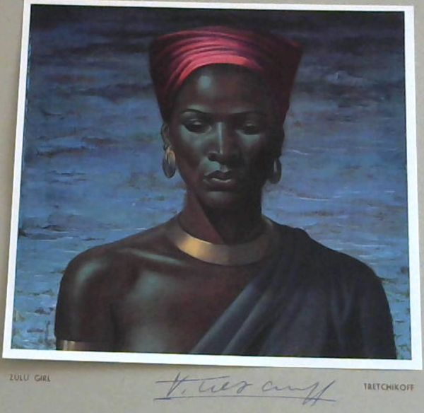 Image for Tretchikoff Print - Signed: Zulu Girl