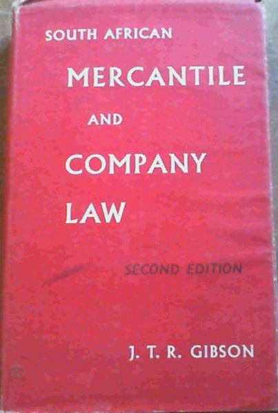 Image for South African Mercantile & Company Law
