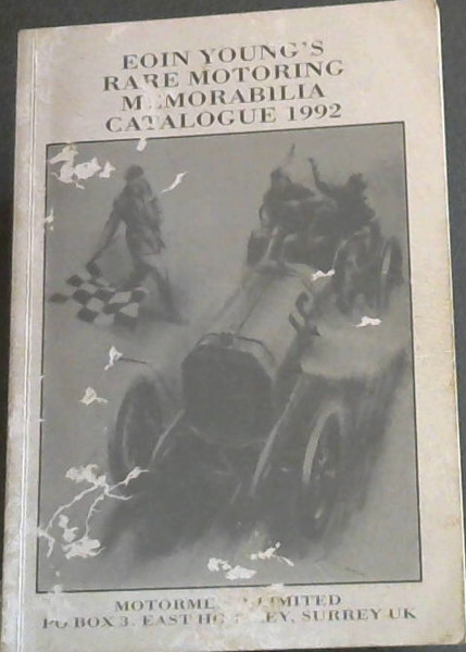 Image for Eoin Young's 1992 Catalogues of Rare Motoring Books and Motoring and Racing Memorabilia
